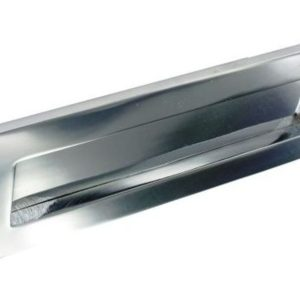 Chrome Shaped letter plate 300mm