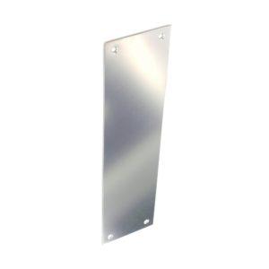 Chrome fingerplate 300mm