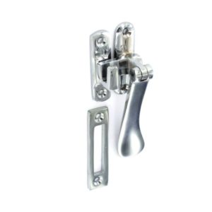 Chrome Casement fastener 100mm