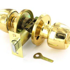 Brass privacy knobset 60/70mm