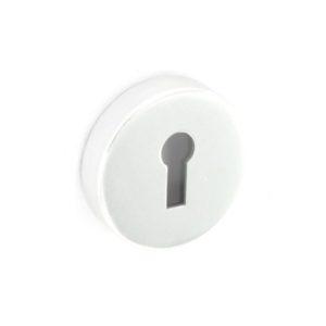 Aluminium escutcheon lock Polished 50mm
