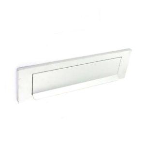 Aluminium grav. letter plate bright 250mm