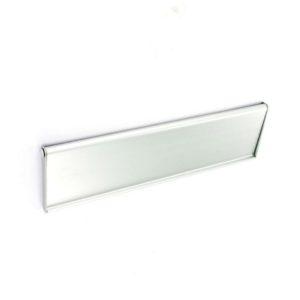Aluminium internal letter flap 250mm