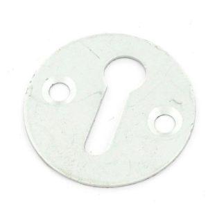 Aluminium escutcheon open satin 30mm