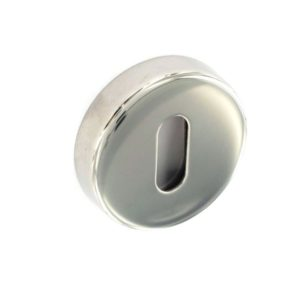 Polished Stainless Steel escutcheon 50mm