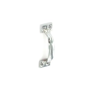 Face fix pull handle Zinc plated 100mm