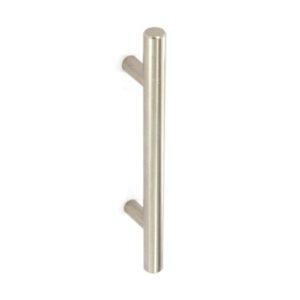 12mm bar handle Brushed Nickel 96mm c/c