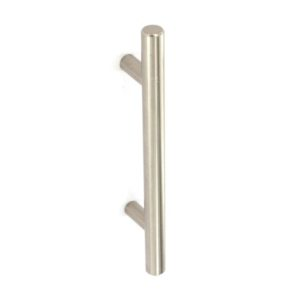12mm bar handle Brushed Nickel 160mm c/c