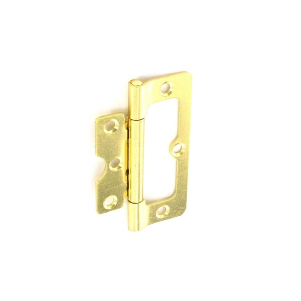 Hurl hinges Brass plated 100mm