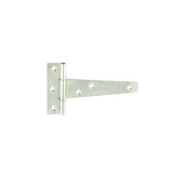 Tee hinges light Zinc plated 1.2mm 100mm