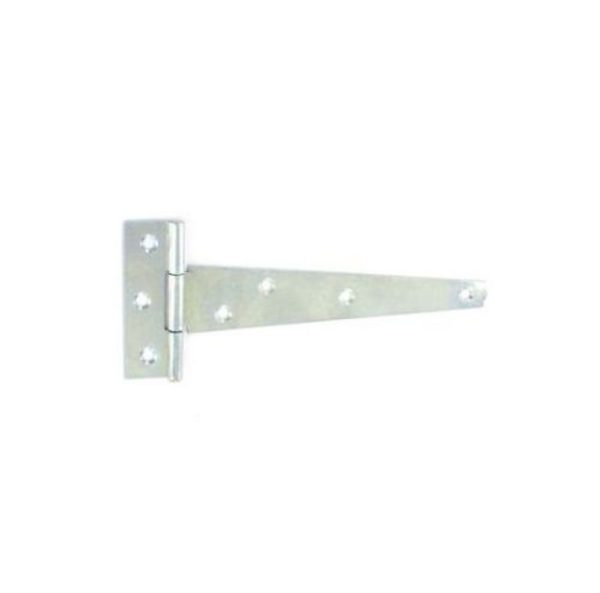 Tee hinges light Zinc plated 1.2mm 150mm