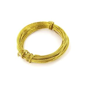 Picture wire Brass 3.5m