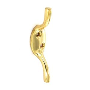 Brass cleat hook Medium