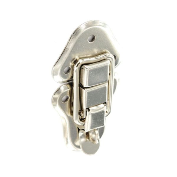 Case clip with padlock loop Chrome 95mm